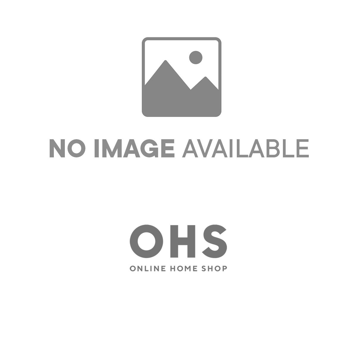 Sienna Crushed Velvet Band Duvet Set - Silver Grey