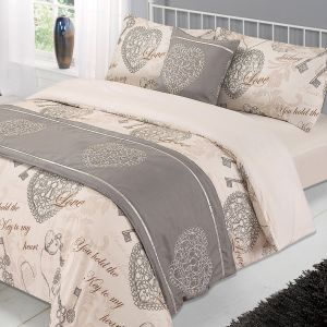 Antoinette Bed in a Bag Duvet Set - Natural