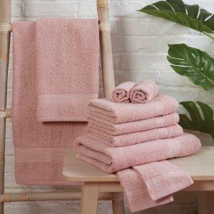 Brentfords Towel Bale 10 Piece - Blush Pink