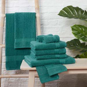 Brentfords Towel Bale 10 Piece - Teal