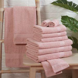 Brentfords 100% Cotton Towel - Blush