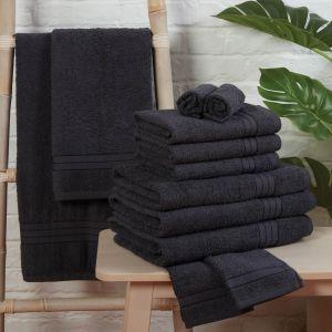 Brentfords 100% Cotton Towel - Charcoal