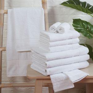 Brentfords Towel Bale 12 Piece - White