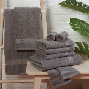 Brentfords 100% Cotton Towel - Grey