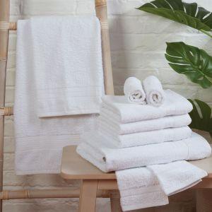 Brentfords 100% Cotton Towel - White