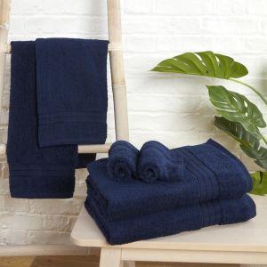 Brentfords 100% Cotton Towel - Navy