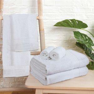 Brentfords Towel Bale 6 Piece - White
