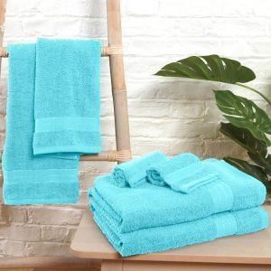 Brentfords 100% Cotton Towel - Aqua