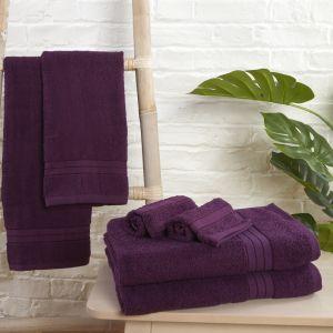 Brentfords Towel Bale 6 Piece - Purple