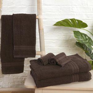 Brentfords Towel Bale 6 Piece - Chocolate