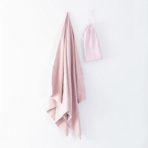 Brentfords Microfibre Towel, 80 x 160cm - Blush