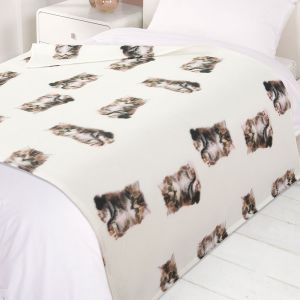 Fleece Blanket 120x150cm - Cat Kitten