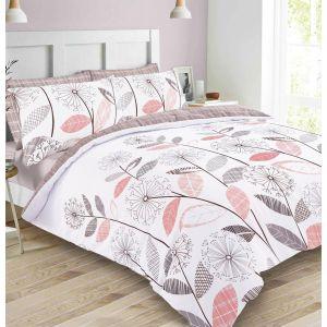 Dreamscene Allium Duvet Cover Set - Blush