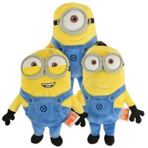 Despicable Me 3 Minions Warmables Microwave Heated Toy, Set of 3 - Dave, Stuart, Kevin