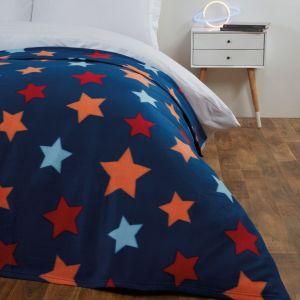 Fleece Blanket 120x150cm - Star
