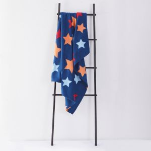 Fleece Blanket 120x150cm - Star