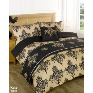 Kate Bed In A Bag Duvet Cover Set - Gold