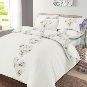 Lizzie Duvet Cover Set - Natural