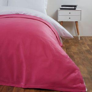 Fleece Blanket 120x150cm - Fuchsia