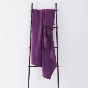 Fleece Blanket 120x150cm - Grape