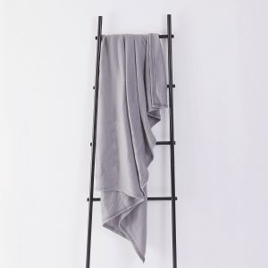 Fleece Blanket 120x150cm - Silver