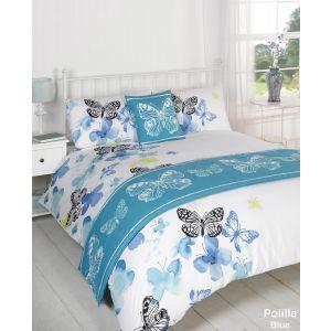 Polilla Bed In A Bag Duvet Cover Set - Blue