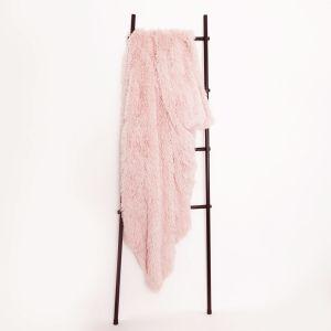 Sienna Fluffy Throw 150x200cm - Blush