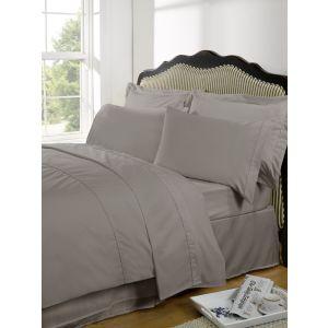 Highams 100% Egyptian Cotton Plain Dye Housewife Pillowcase 230TC - Portobello