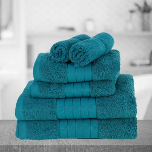 Dreamscene Towel Bale 6 Piece - Teal
