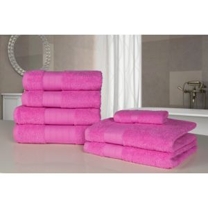 Dreamscene Towel Bale 7 Piece - Pink