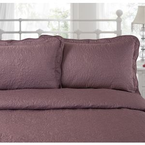 Victoria Pillo Shams - Vintage Mauve