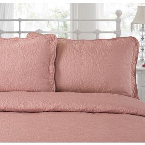 Victoria Pillo Shams - Vintage Pink