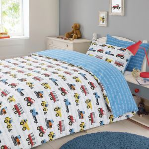 Work Force Duvet Set - Multi