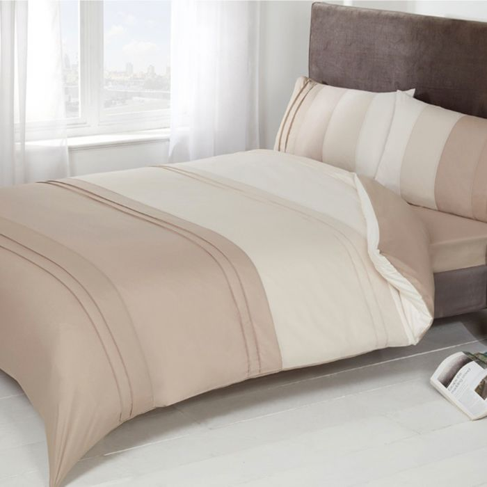 MINK 100/% Poly Cotton Plain Bed Fitted Sheet or Pillow Case All Sizes