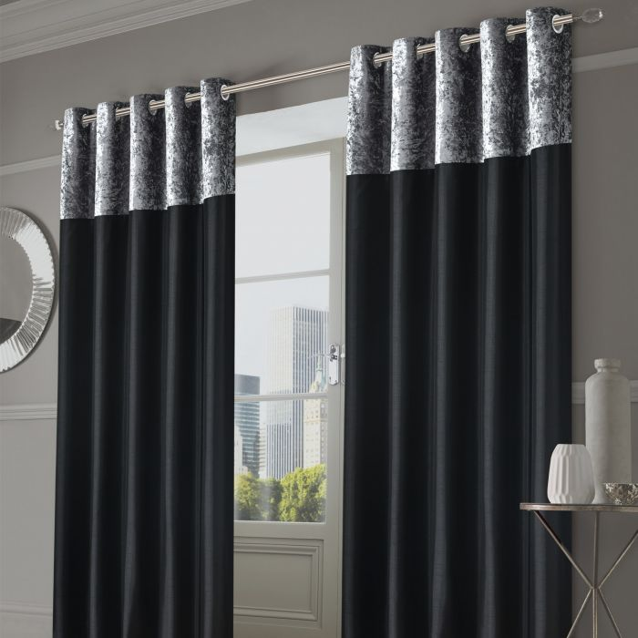 Sienna Home Manhattan Crushed Velvet, How To Wash Crushed Velvet Curtains