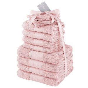 Brentfords Towel Bale 12 Piece - Blush Pink