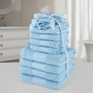 12pc Towel Bale - Aqua