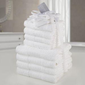 Dreamscene Towel Bale 12 Piece - White