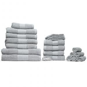 Dreamscene Towel Bale 20 Piece - Silver