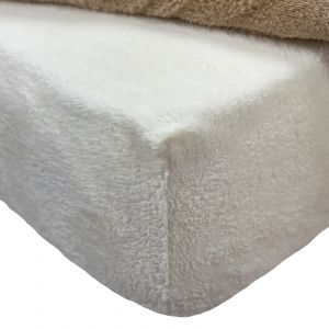Brentfords Teddy Fleece Fitted Sheet - Cream