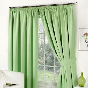 Oxford Thermal Blackout Curtains - Sage Green 66X90