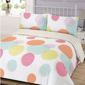 Dreamscene Bounce Duvet Cover Set - Multi