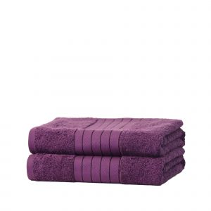 2pc Towel Bale - Purple