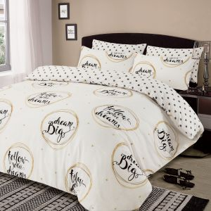 Follow Your Dreams Duvet Cover Set - Natural