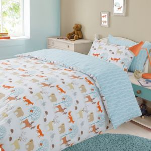 Forest Animals Duvet Set - Multi