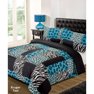Kruger Duvet Cover Set - Teal