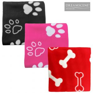 Dreamscene Fleece Pet Throw - 120 x 120cm