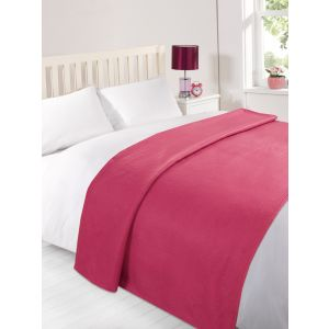 Fleece Blanket 120x150cm - Fuchsia