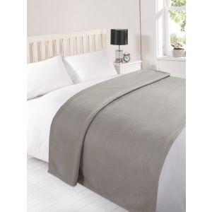 Fleece Blanket 120x150cm - Silver