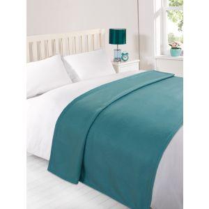 Fleece Blanket 120x150cm - Teal